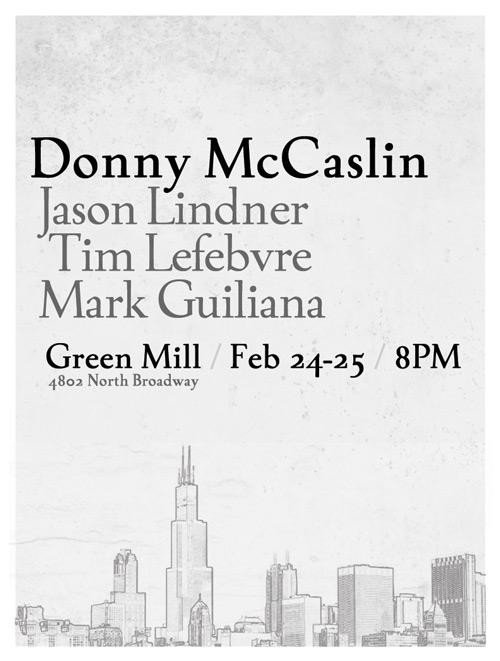 Donny McCaslin at Green Mill