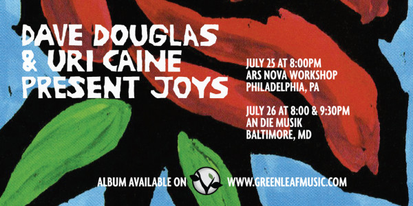 Present Joys US Tour Banner
